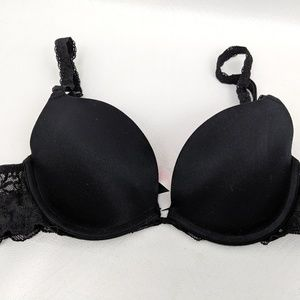 VS Pink Push Up Bra Black 34A